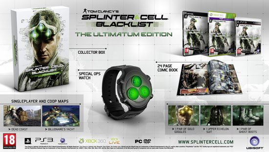 Европейские коллекционные издания Splinter Cell Blacklist  Компания Ubisoft анонсировала коллекционные издания Tom C ... - Изображение 2