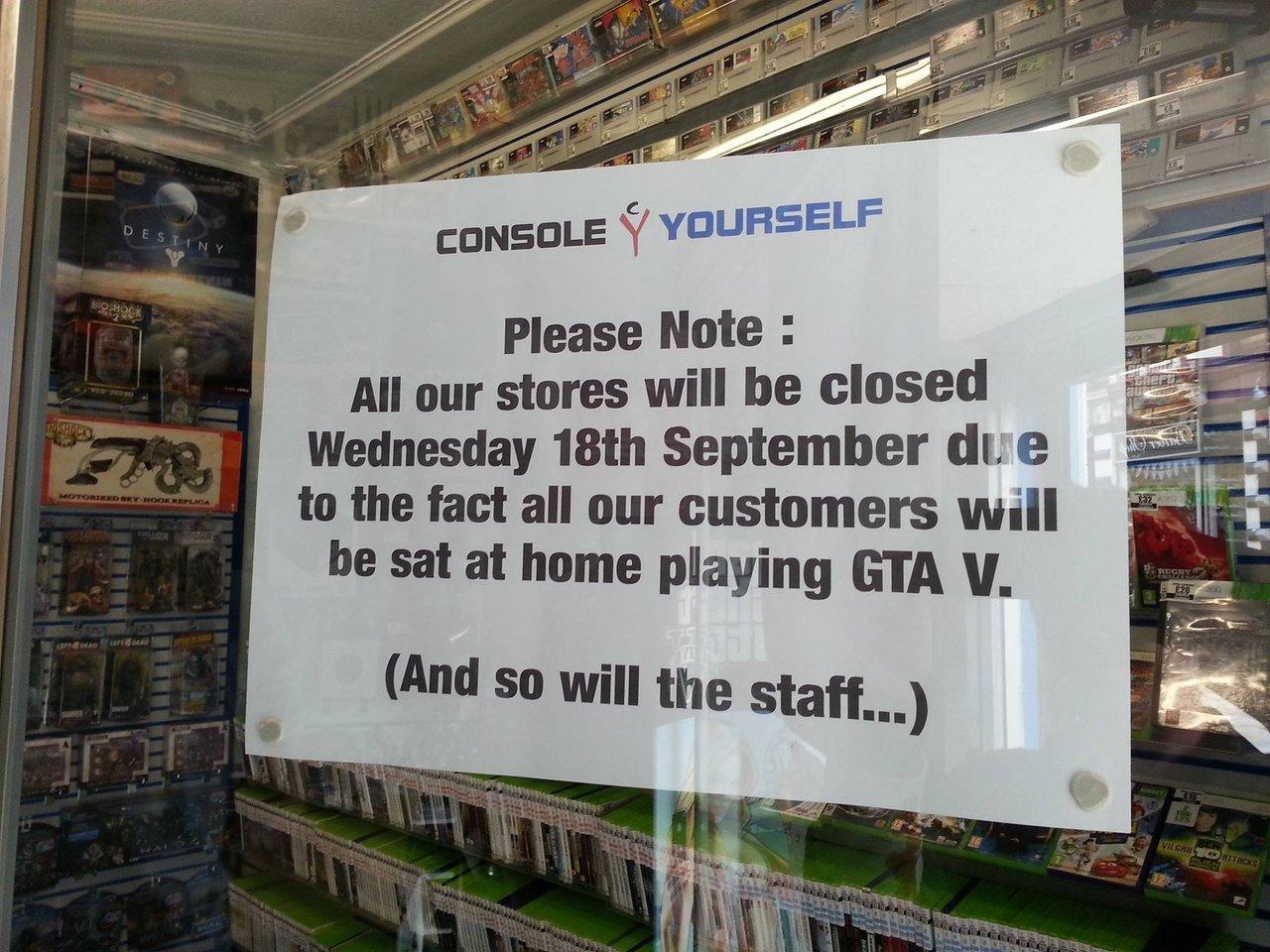 Пожалуйста примите во внимание!Все наши магазины будут закрыты в среду, 18 сентября, из-за того что все наши покупат ... - Изображение 1