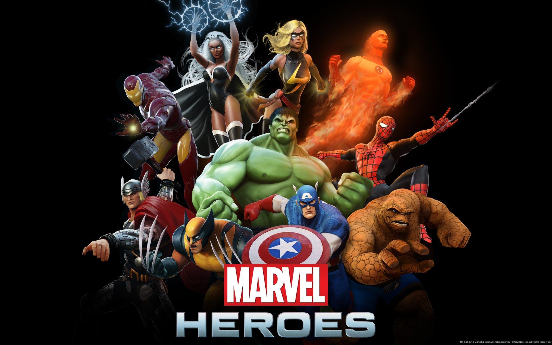 Народ, кто играет в бету Marvel Heroes, как оно вам? ;)  - Изображение 1