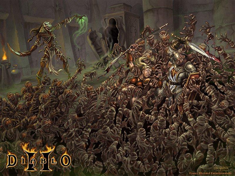 KNB Event 9 В общем, мы сегодня решили поиграть в Diablo II Lord of Destruction 1.13d . Играем как обычно в 19-00 ( ... - Изображение 1