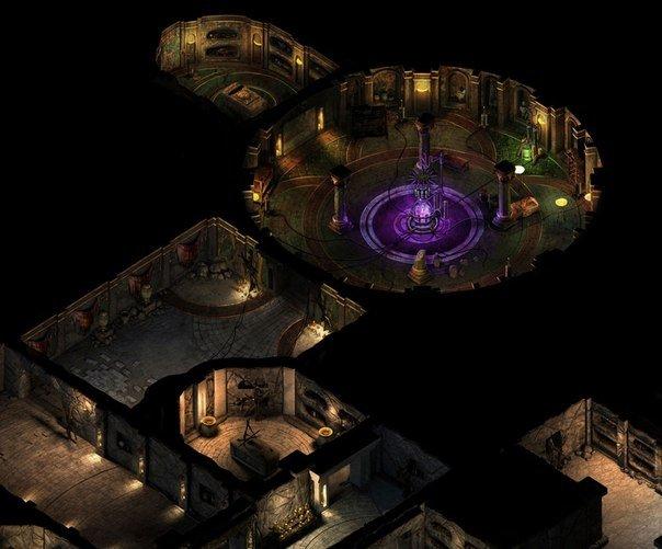 Данж из Project Eternity. Вылитый балдурс.. - Изображение 1