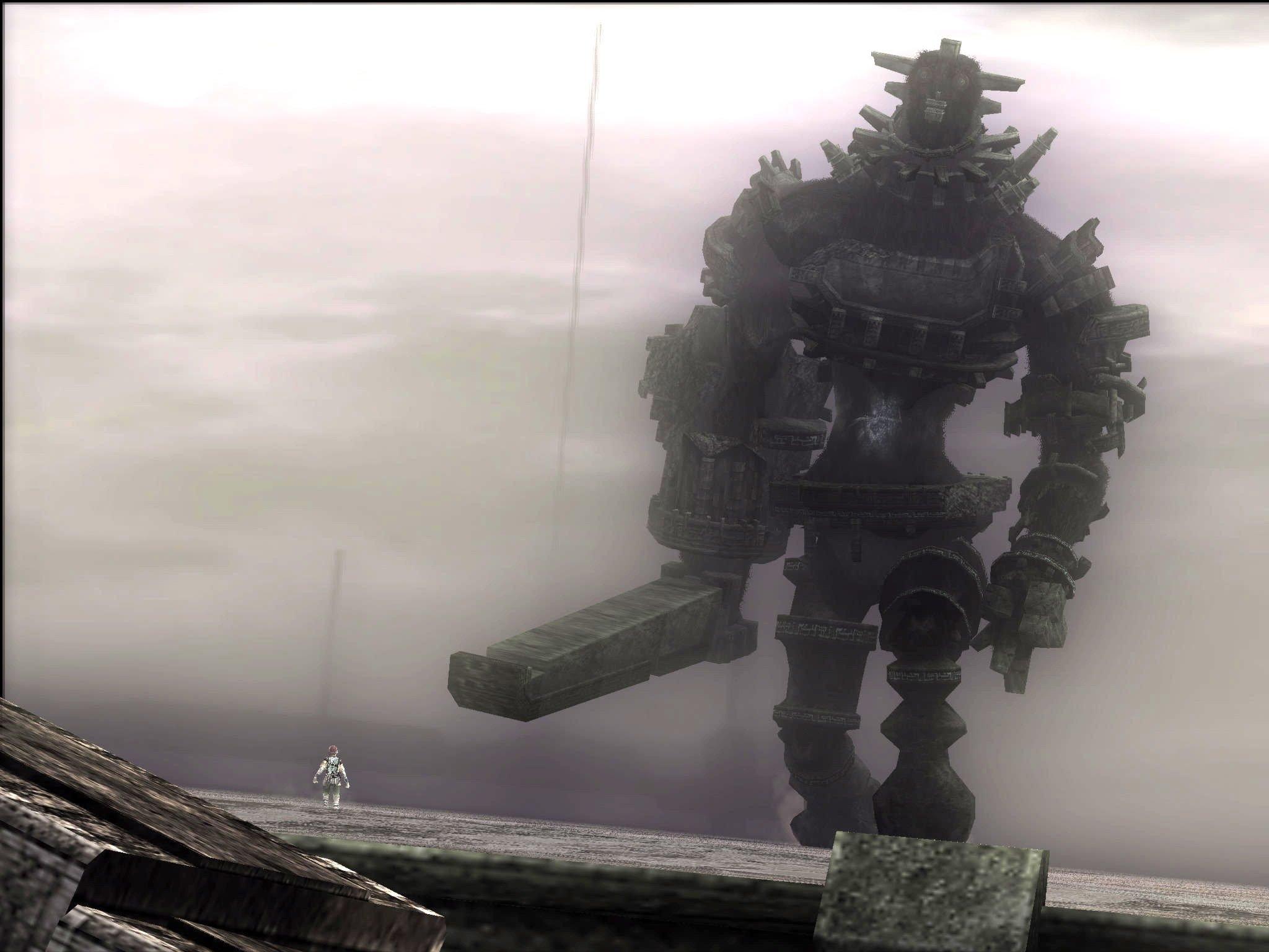 """Сегодня я решил вспомнить об игре, которая является уникальной в своём жанре. Речь пойдёт о """"Shadow of the Colossus' ... - Изображение 1"""