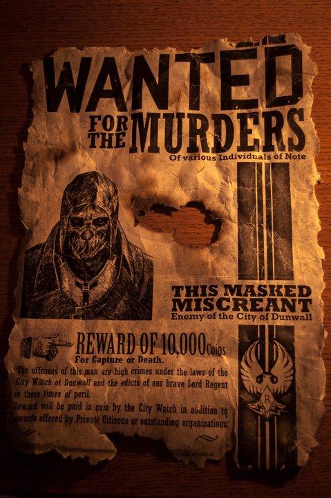 """Моя первая попытка """"оживить"""" мир игр. Как-то наткнулся я на очень годный постер игры """"Dishonored"""", имитирующий листо ... - Изображение 3"""