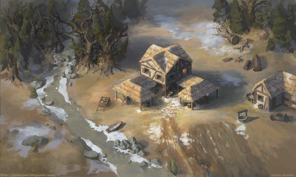 Красивый арт Age of Empirese II - Изображение 1