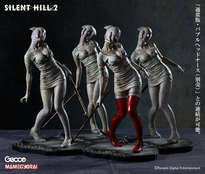Эксклюзивный вариант статуэтки Медсестры из игры Silent Hill 2, которая будет представлена 18 июля на выставке Comic ... - Изображение 1