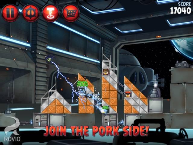 Скриншоты вышедшей PC-версии Angry Birds: Star Wars II. - Изображение 2
