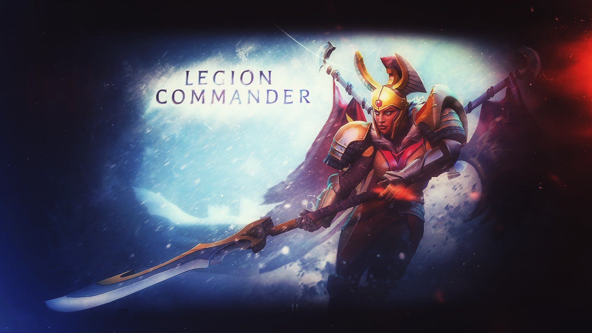 Legion Commander#Dota2 #Модный_фильтр PS: 1920x1080 - Изображение 1