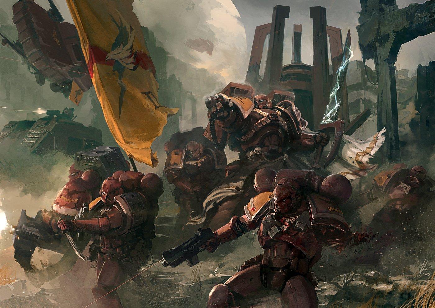 GW с какими то Behaviour Interactive анонсировали Warhammer 40,000: Eternal Crusade. На этот раз не ширпотреб для те ... - Изображение 1