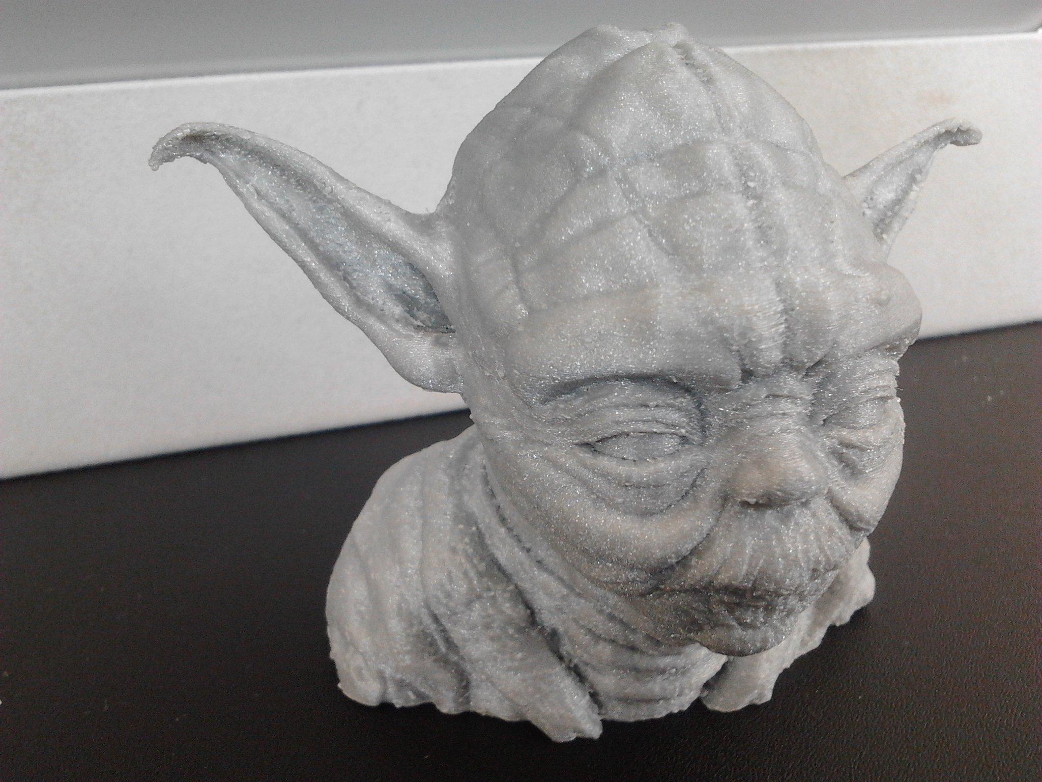 Мастер Йода нашел воплощение на 3д принтере=) - Изображение 1