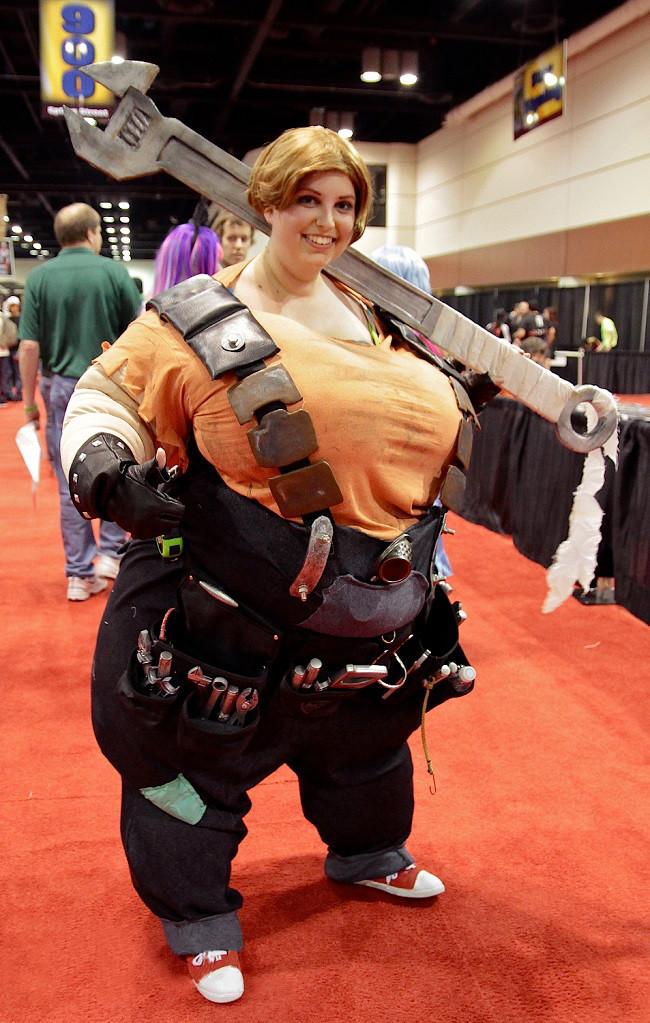 Палец вверх, если вам нравятся пухлые телки. : D#cosplay - Изображение 2
