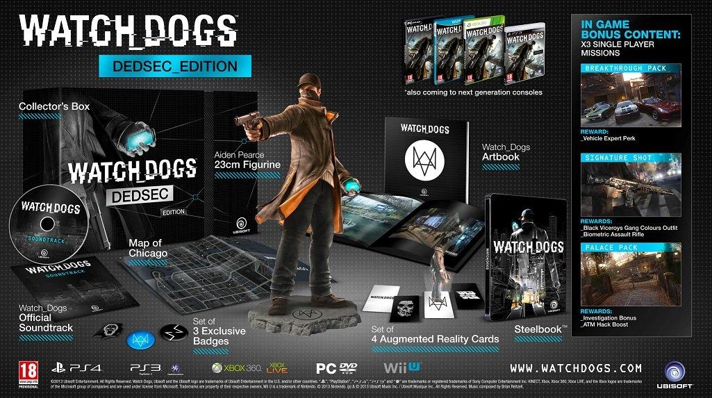 Набор игры #Watch_Dogs - Изображение 1
