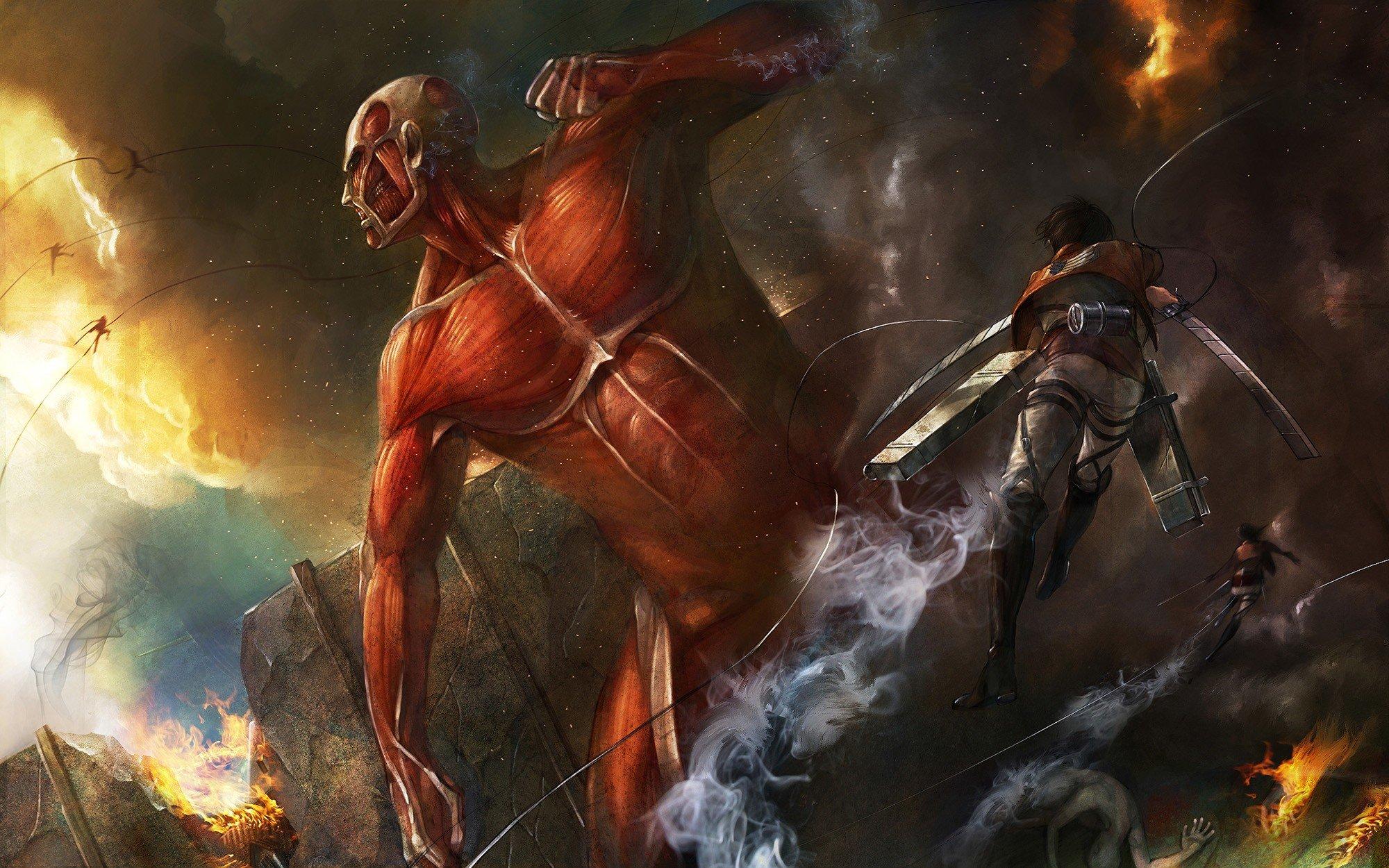 """Пара эпичных артов по """"Вторжению Титанов"""" для вас! - Изображение 2"""