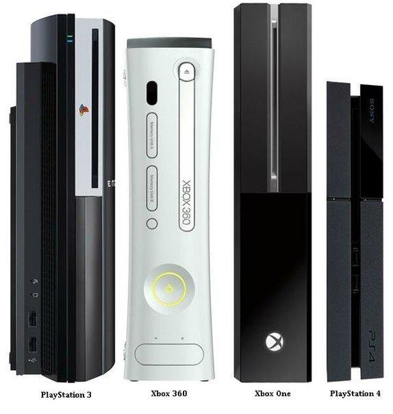 Сравнение размеров Xbox One и PS4 - Изображение 1