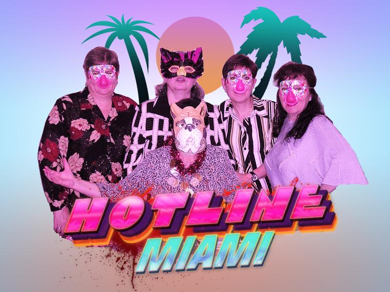 #hotline_miami #как_вырос_то_небось_все_девки_по_двору_за_тобой_бегают - Изображение 1