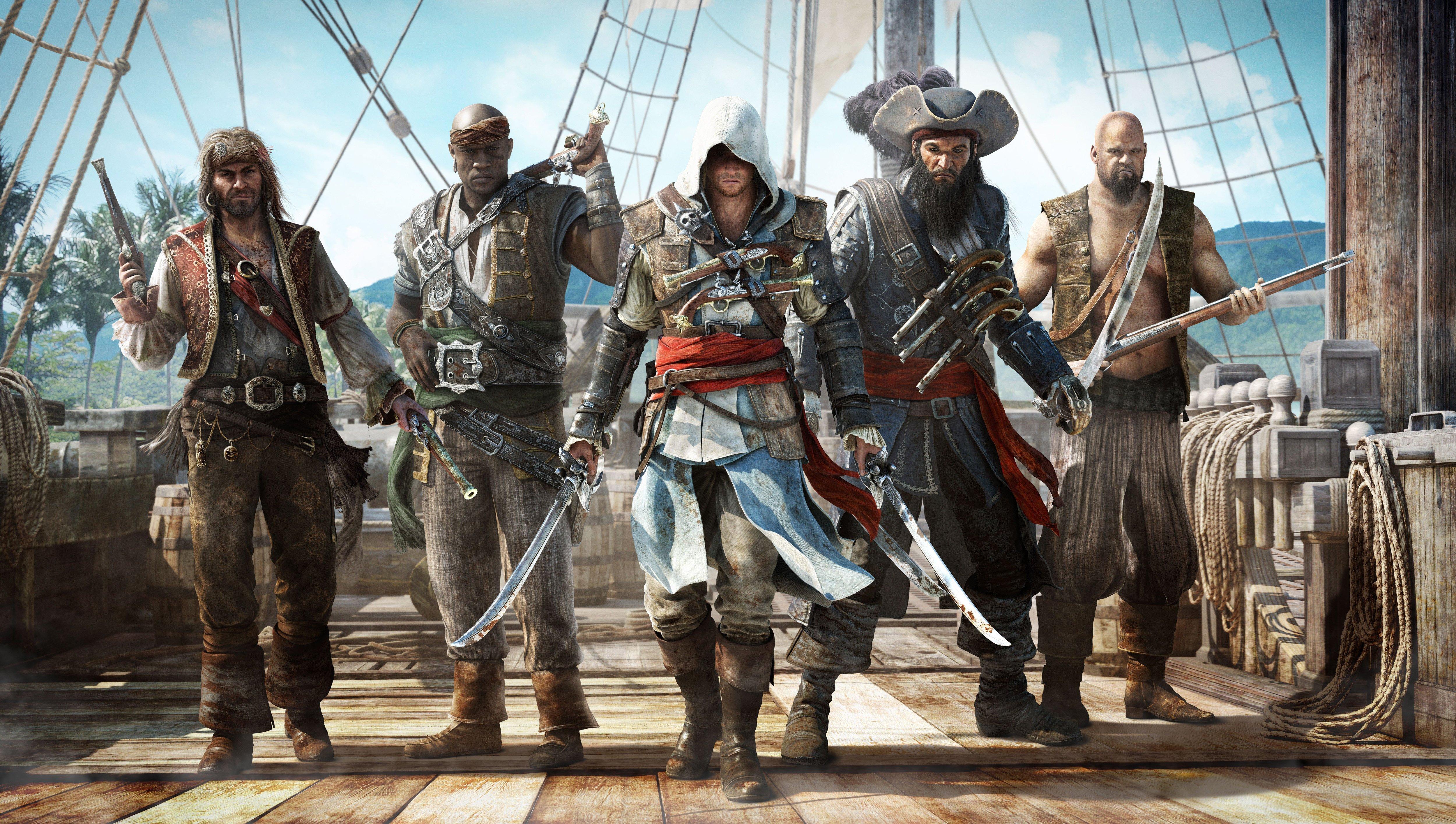 А знаете ли вы?Что всеми ожидаемый Assassins Creed IV: Black Flag уже пару дней как на торрентах простаивает, пока в ... - Изображение 1
