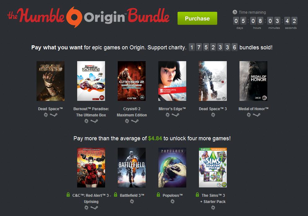 EA еще выкатило игрульки в своей практически бесплатной раздаче игр) Теперь за 5$ можно получить не только Battlefie ... - Изображение 1