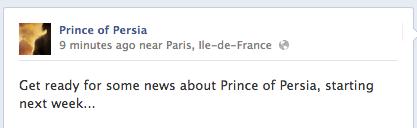 Обещают подробности по новому Принцу на следующей неделе. Лишь бы не убогий платформер мобильных платформ или ещё ка ... - Изображение 1