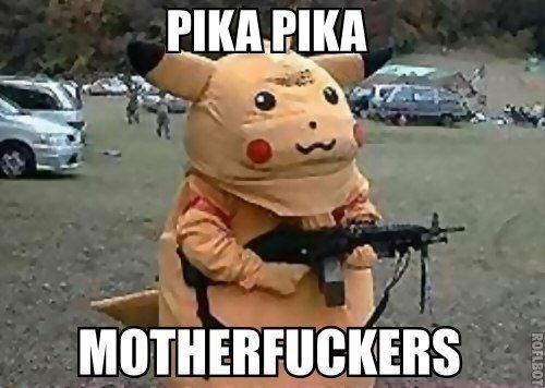 #motherfuckers #pikachu #уженетот  - Изображение 1