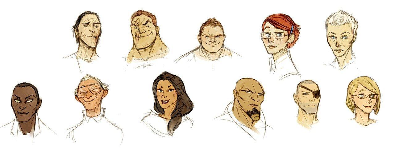 Эта все герои игры #MassEffect в человеческих обличьях, кто сможет назвать всех? - Изображение 1