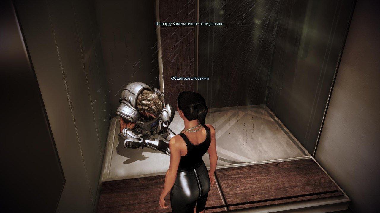 """Вот картинка с пьяным кроганом, которая объясняет, почему """"Цитадель"""" - лучшее дополнение к Mass Effect. - Изображение 1"""