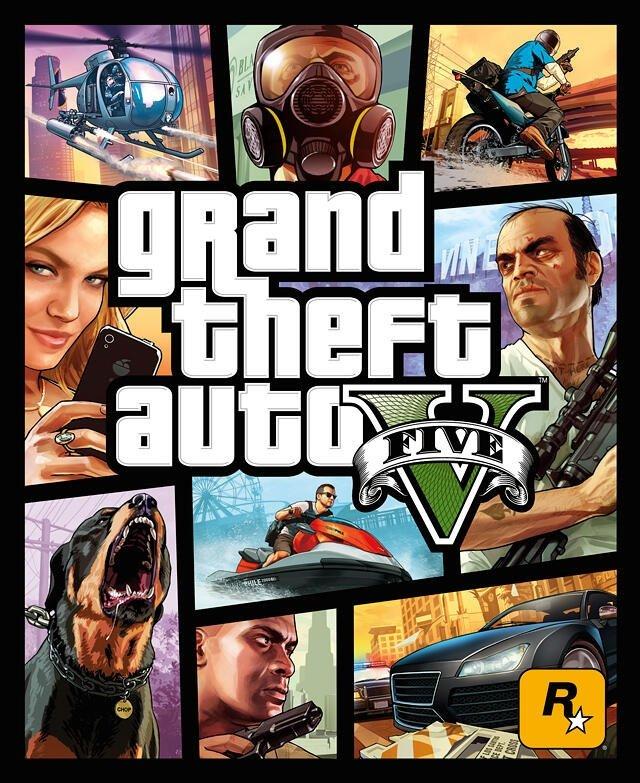 #Rockstar поделились официальным (на этот раз точно) бокс-артом #GTA5:  - Изображение 1
