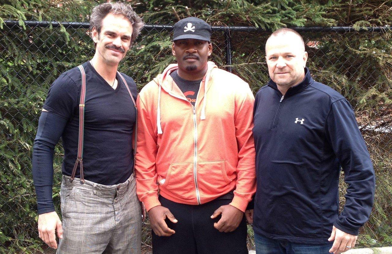 Люди ответственные за голоса главных героев Grand Theft Auto V, слева направо: Тревор (Стивен Огг), Франклин (Шон Фо ... - Изображение 1