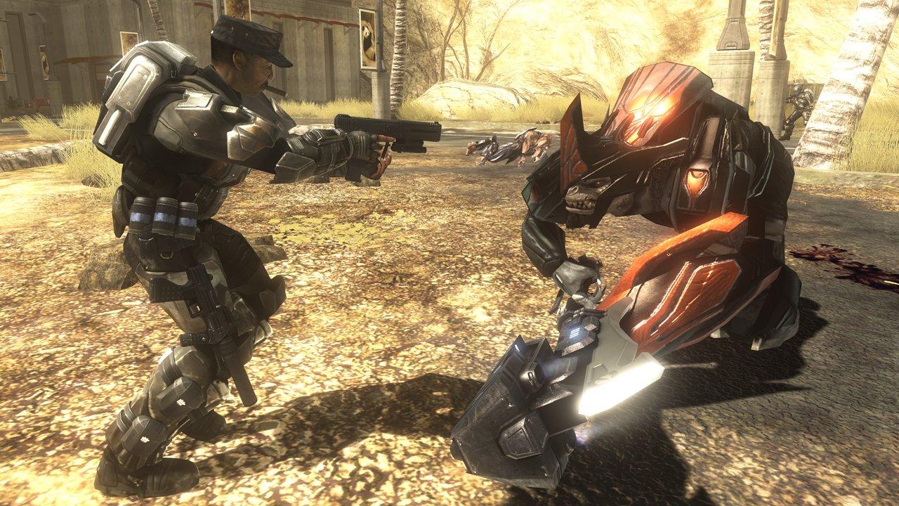 Я таки решил узнать что же такое, этот Halo. И начал познавать эту серию с Halo: Reach. Поиграв пару часов в Halo: R ... - Изображение 1