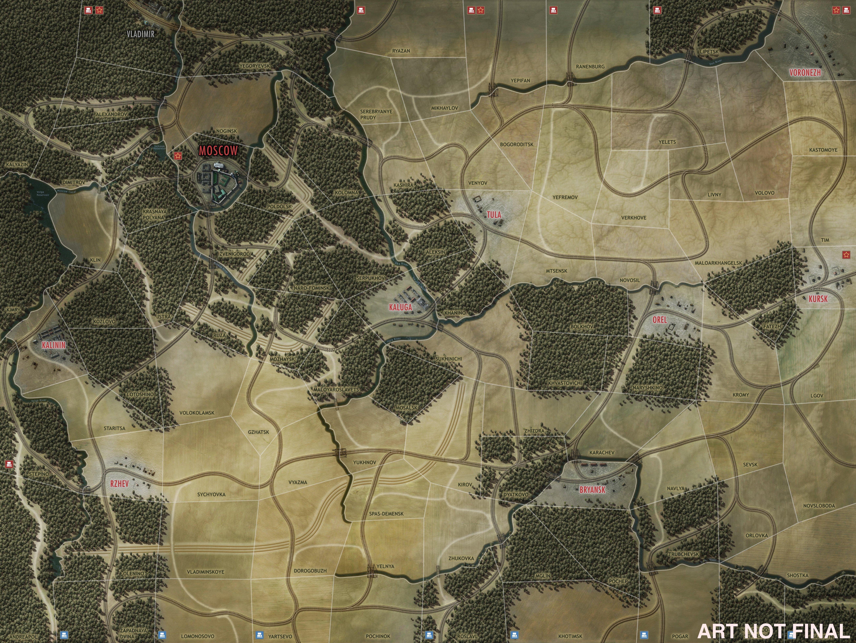 Drive on Moscow. Восточный фронт, как вы понимаете. Фактически Battle of the Bulge 1.5. Осенью на #iOS. - Изображение 2