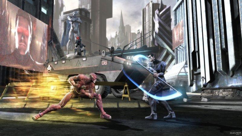 Картинки из нового файтинга Injustice: Gods Among Us Ultimate Edition. - Изображение 2