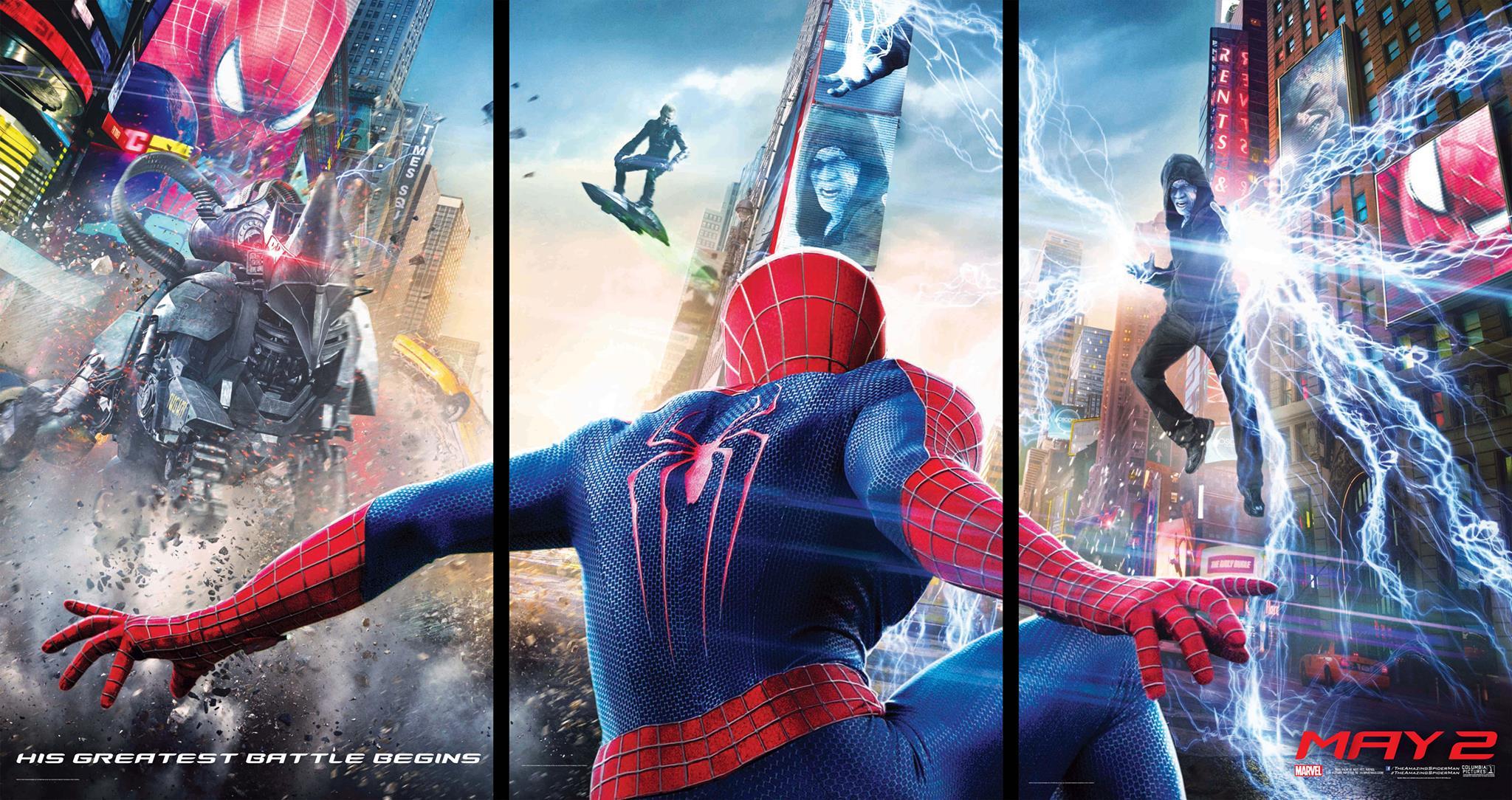 #SpiderMan #Amazing #WallPaper #May  Постеры The Amazing Spider-Man 2. Электро тут напоминает смесь Алекса Мерсера и .... - Изображение 1