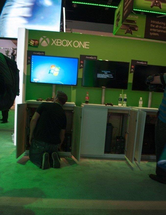 """Демо-стенды с играми Xbox One были запущены на ... РС!  """"Только что играл в игру для Xbox One с помощью геймпада Xbo ... - Изображение 2"""