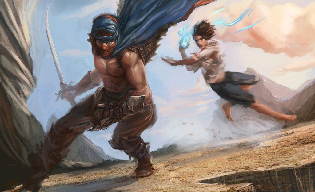Инфа с оф страницы Prince of Persia на facebook - новости по игре на следующей недели. Интересно, будет ли это тот с ... - Изображение 1