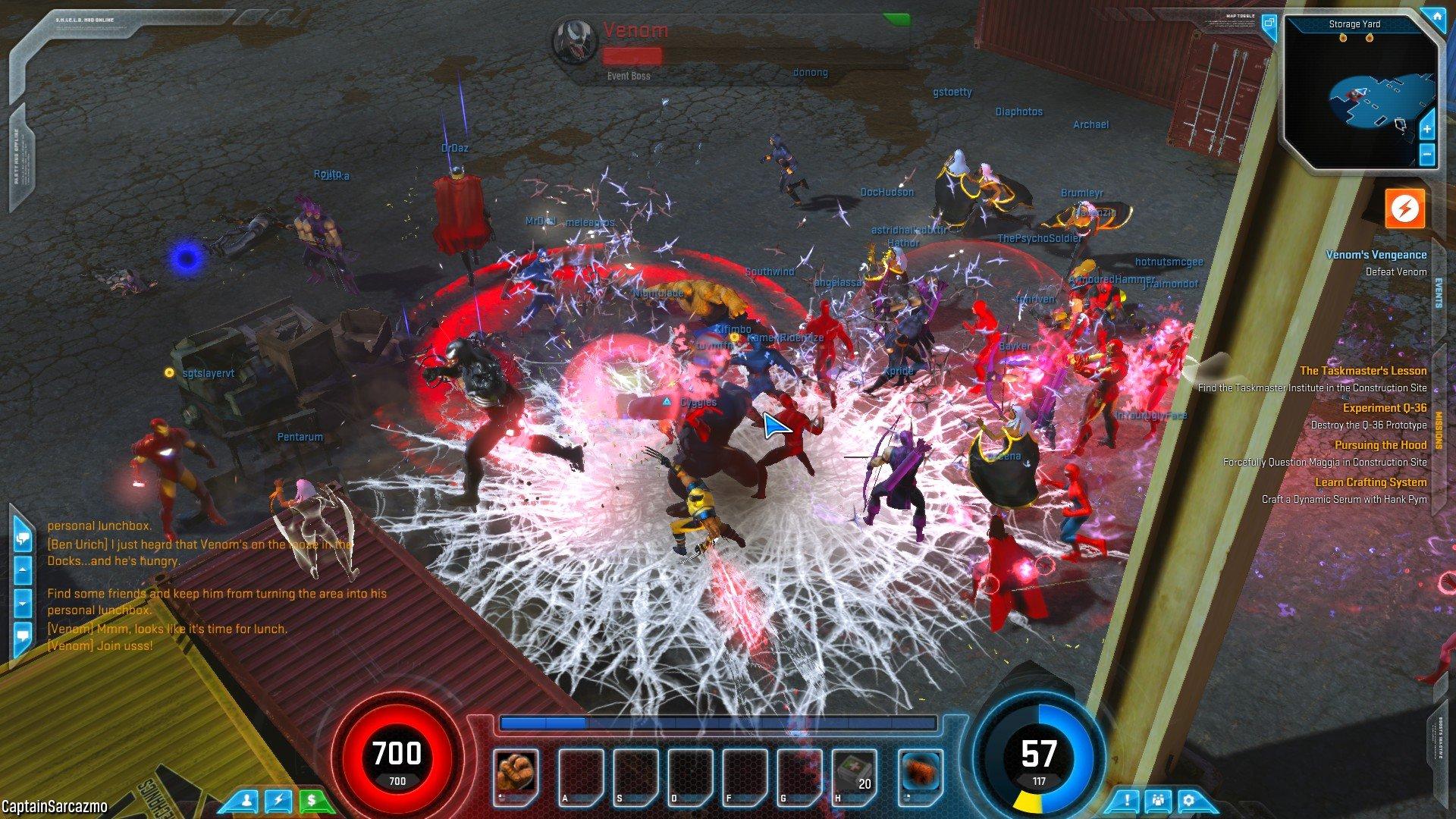 На этом скриншоте продемонстрирован один из основных недостатков новой ММО (диаблоклона) игры Marvel Heroes. Помимо  ... - Изображение 1