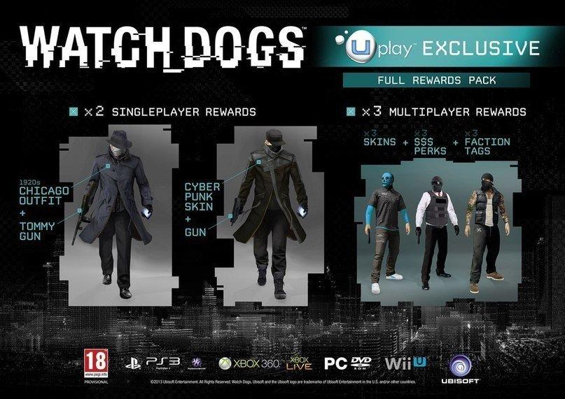 Ubisoft опубликовала бонусную версию пред заказа Watch Dogs в Uplay. Судя по картинке, можно сделать вывод, что игро ... - Изображение 1