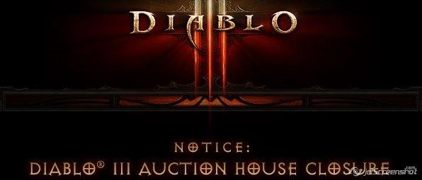 Аукцион в Дьябло закрывается.Окончательное закрытие 18-го марта 2014.Закрывают, потому что аукцион загубил им игру : ... - Изображение 1