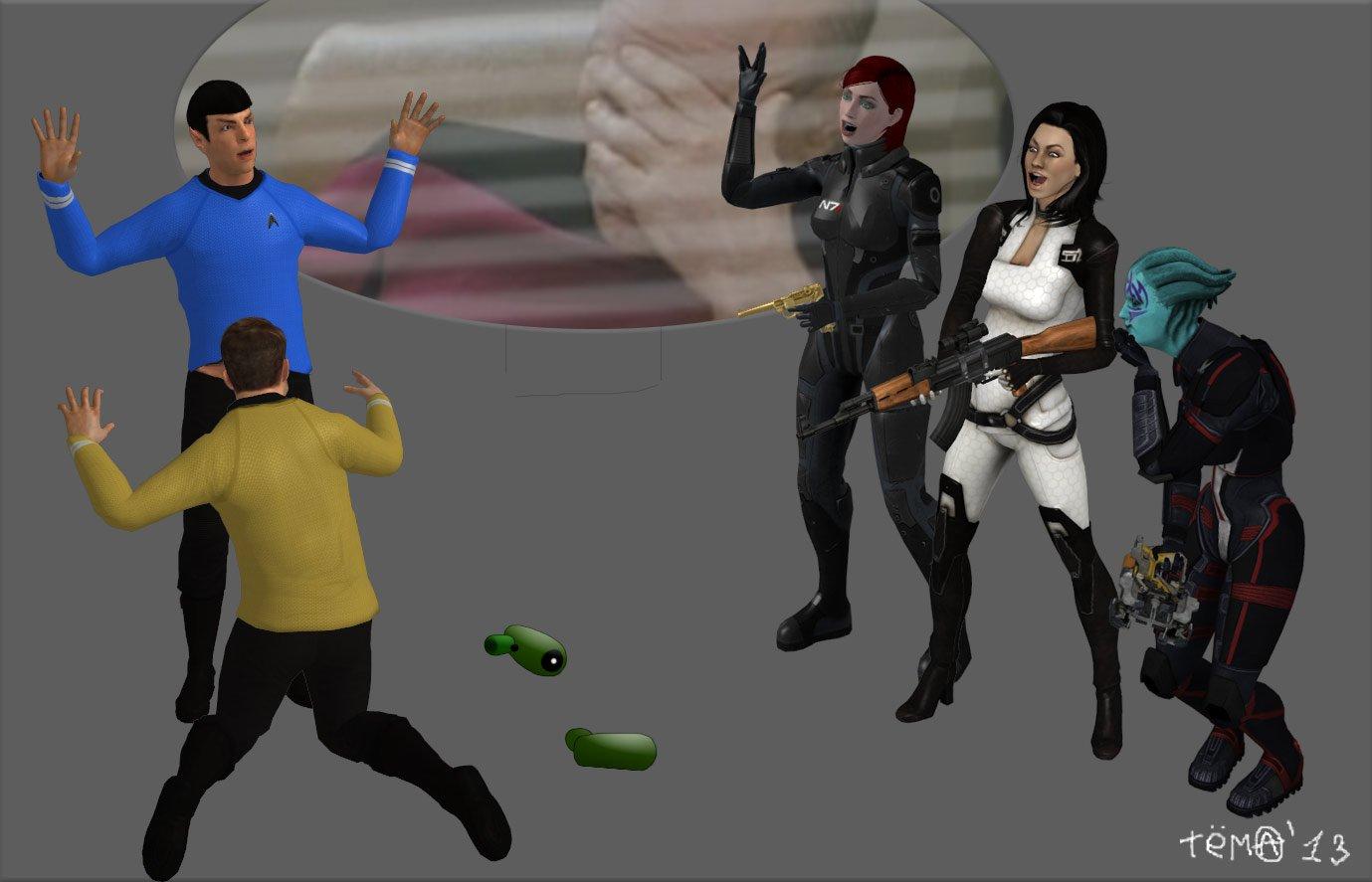 star trek : gay effect - Изображение 1