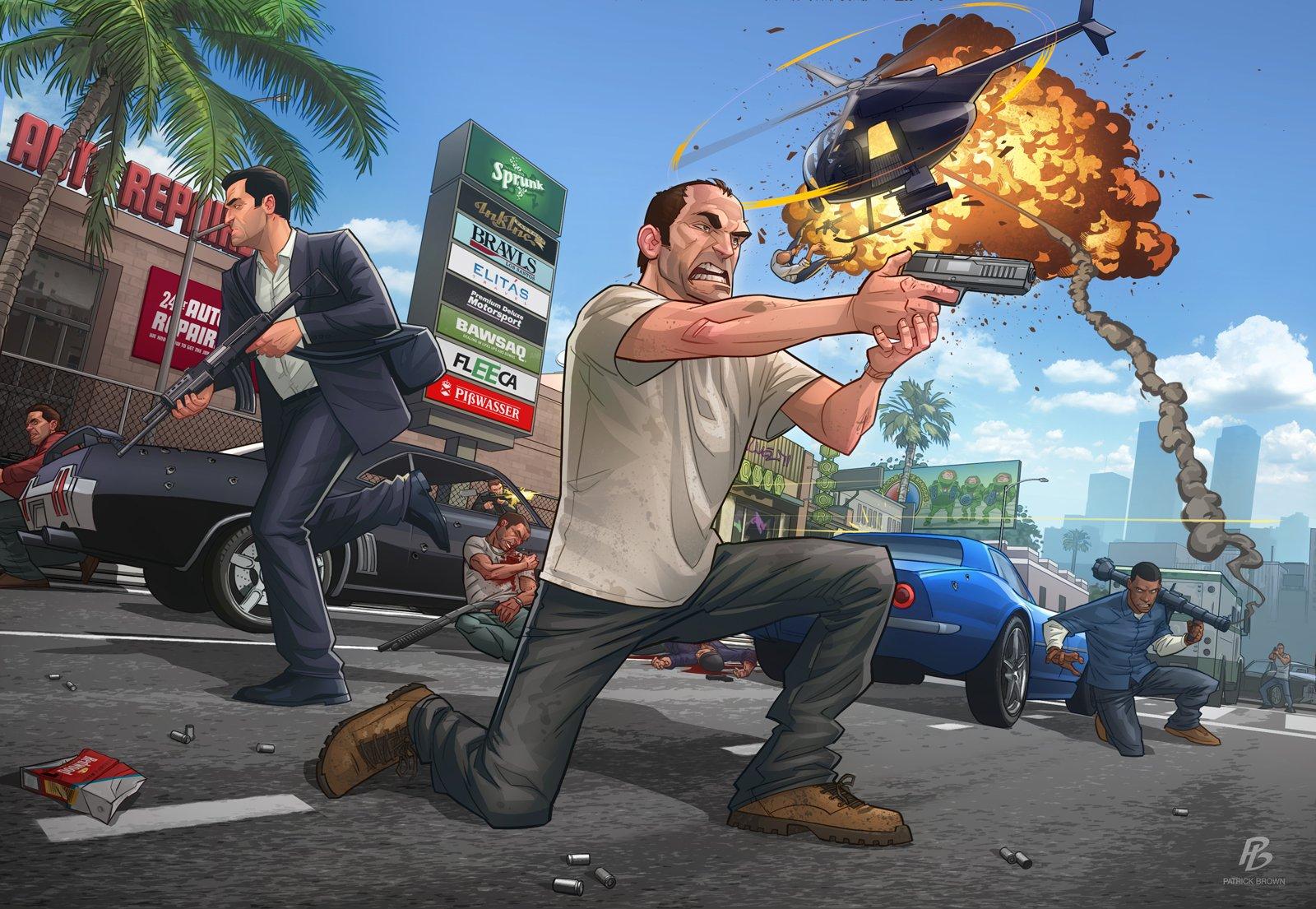 Час О: запуск GTA Online и новая информация о мультиплеере  GTA Online станет доступной для всех обладателей лицензи ... - Изображение 1