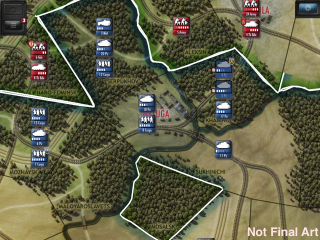 Drive on Moscow. Восточный фронт, как вы понимаете. Фактически Battle of the Bulge 1.5. Осенью на #iOS. - Изображение 1
