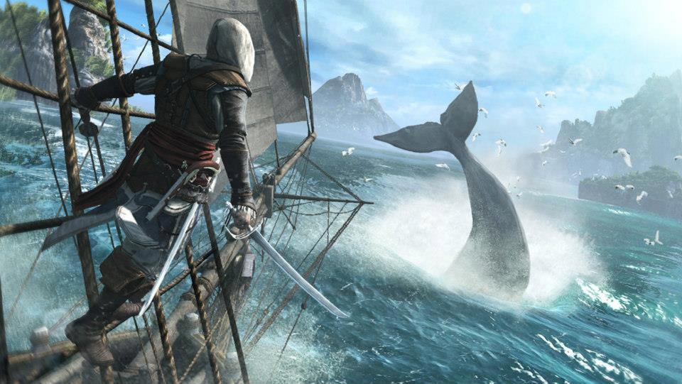 В Assassin's Creed IV Black Flag КИТЫЫ! - Изображение 1