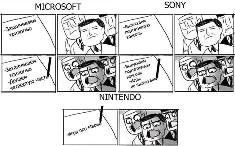 #microsoft #sony #nintendo - Изображение 1