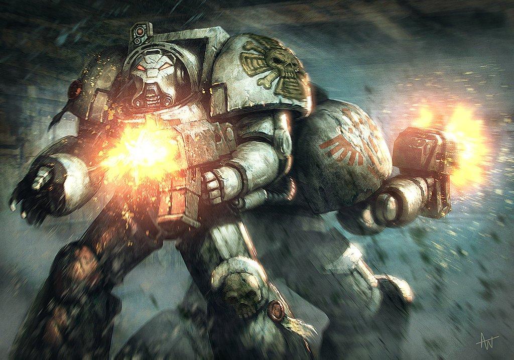 Анонсирована (или не совсем) новая игра по вселенной #WH40k - Space Hulk: Deathwing. Игра разрабатывается на страшно ... - Изображение 1