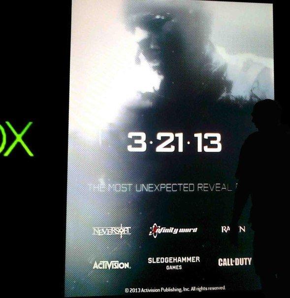 Промо постер новой части Call of Duty ^__^. Анонс 21 марта - Изображение 1