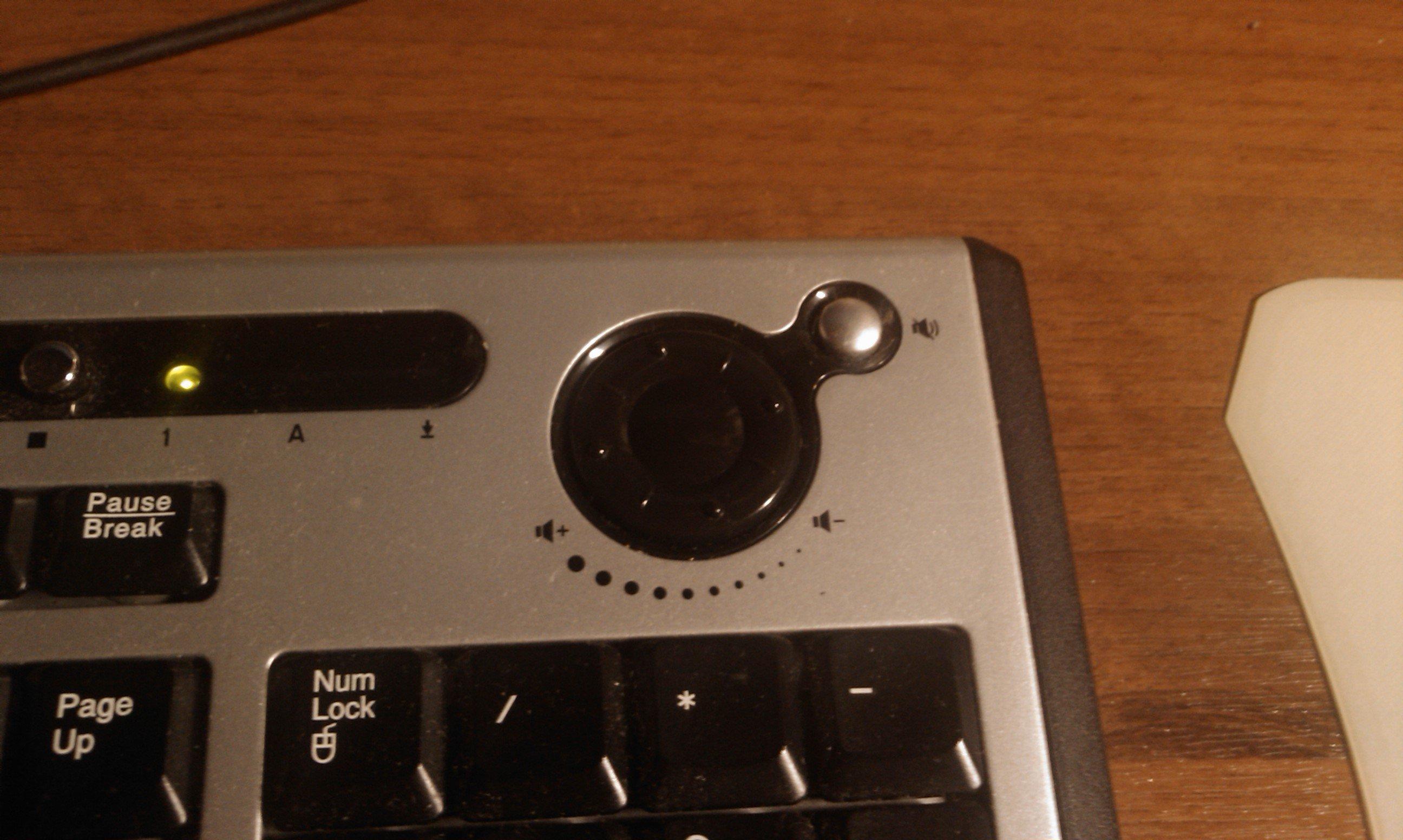 Клавиатуры бывают двух видов: плохие, и с регулятором громкости аналогового типа. - Изображение 1