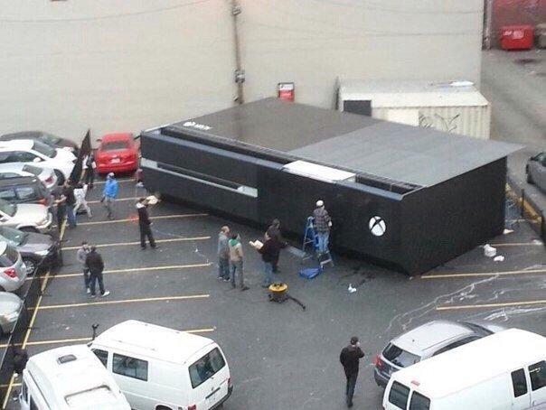 Вот он какой, Xbox One в полную величину.) - Изображение 1