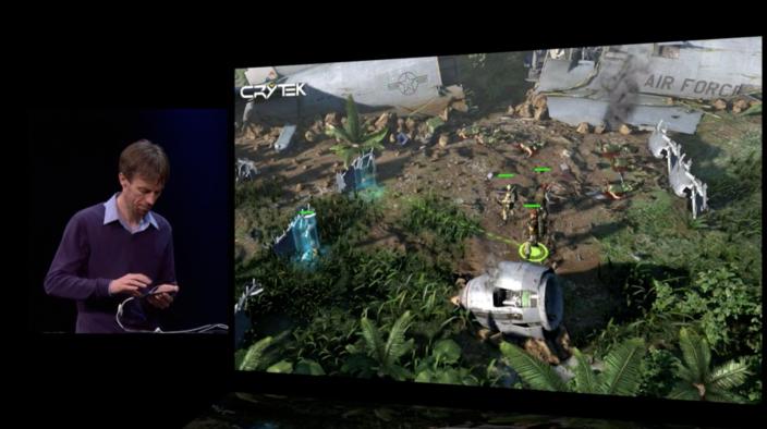 Crytek показала проект для #ios с поддержкой физического контроллера.И на сколько я понимаю, Logitech уже в процессе ... - Изображение 1