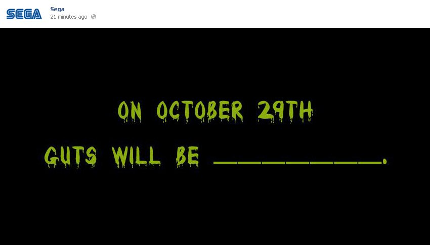 Компания SEGA опубилковала на своей официальной страничке в социальной сети Facebook загадочное тизер-изображение, к ... - Изображение 1