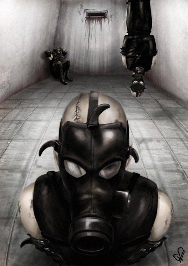 А тем временем, пока все обсуждают новый Call of Duty, я выложу еще один клевый арт по Metal Gear Solid  #PsychoMantis - Изображение 1