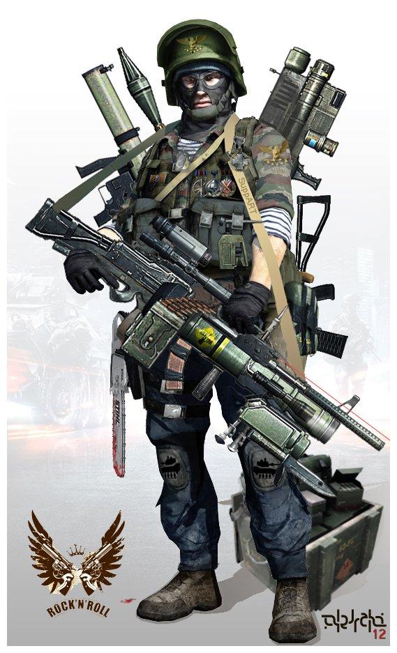 Решил выложить, пока Battlefield 3 еще актуален. Фотошопил ради забавы, идеального солдата поддержки - suppART! - Изображение 1