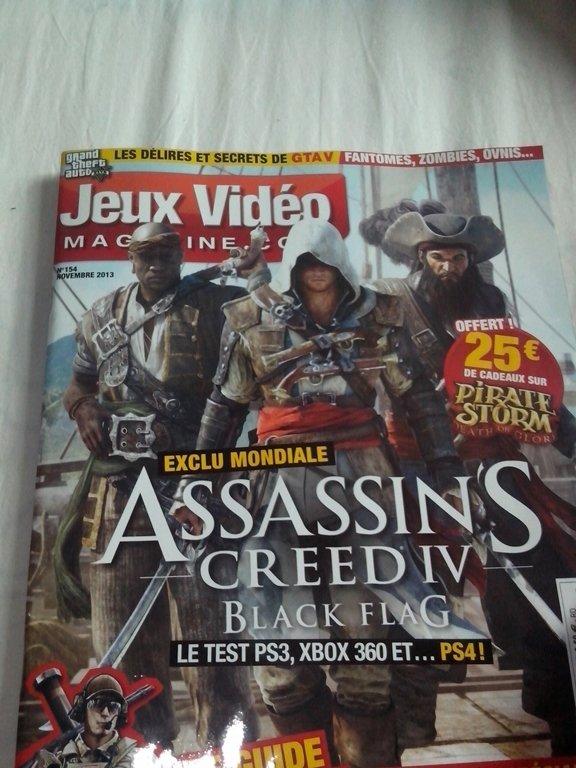 Французский журнал Jeux Video разразился первым обзором на игру Assassin's Creed IV: Black Flag.  Игра получила 18 б ... - Изображение 1