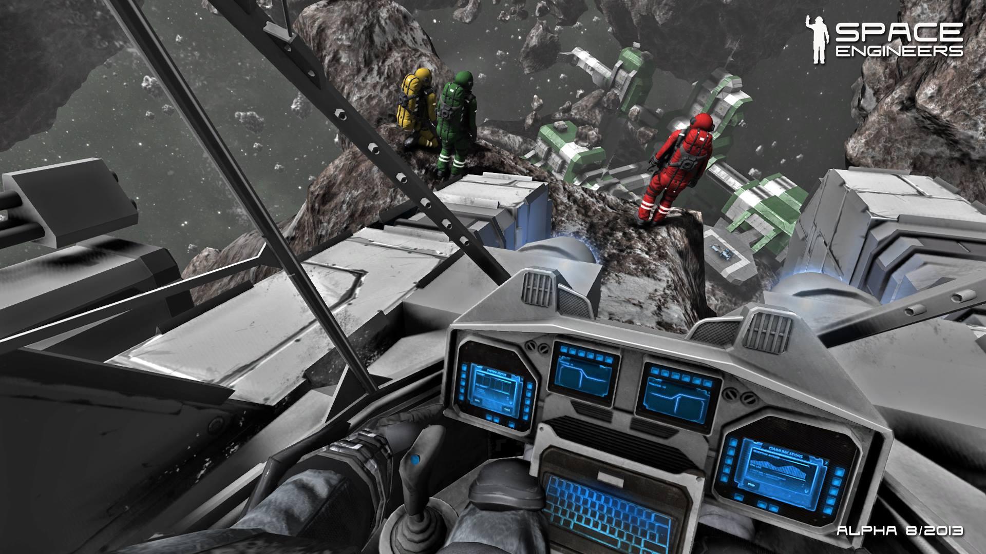 Новый скрин Space Engineers - кабина - Изображение 1